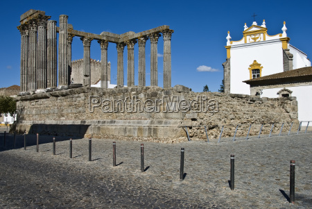 portugal evora tempel rom geschichte kultur