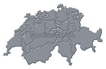 suico mapa swizerland