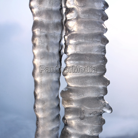 ice frozen freezes icicle icicles tap