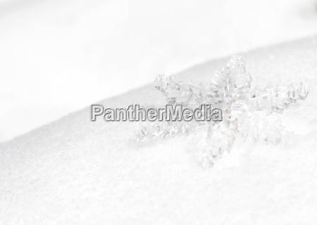 ice crystal frost work snowflake christmas