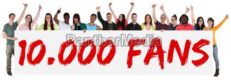 fas ventilador 10000 likes soziales netzwerk