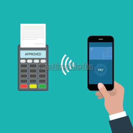 pagamento do conceito aprovado pagamento atraves