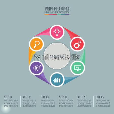 informacoes apresentacao brochura grafico projeto moderno