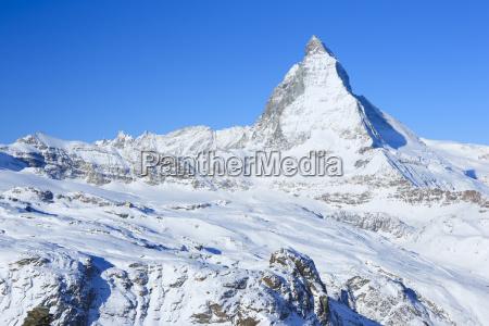matterhorn 4478 m zermatt valais swiss