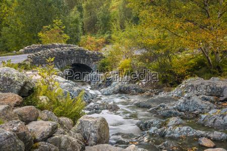 ashness bridge lake district national park